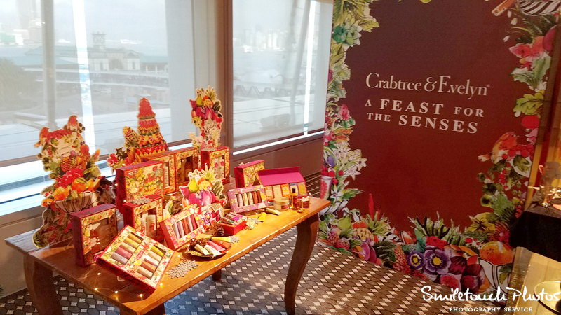 Crabtree & evelyn a feast for the senses